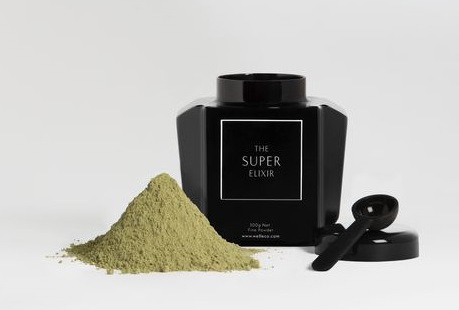 RISE AND SHINE WITH A SUPER GREEN SUPPLEMENT FROM ELLE MACPHERSON